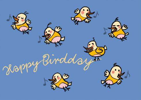 V 12 040 Happy Birdday